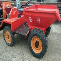 销售畜牧养殖业拉粪前翻斗车 高性能建筑工程机械四轮装载机械