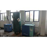 武汉捷豹16公斤激光切割机专用螺杆空压机漏油的原因和解决办法