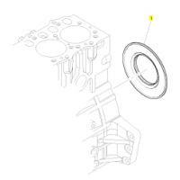 帕金斯发动机配件 帕金斯后油封2418F705 康曼机电