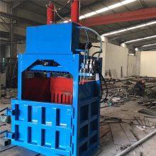 专业生产液压打包机 小型立式废品压缩打包机 昌隆废金属易拉罐压块机