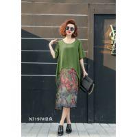 广州四季太阳花纯棉连衣裙批发,超值价位,当季新款。