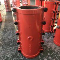厂家供应 加长500型堵漏器 球墨铸铁哈夫节 DN100-1000mm口径齐全