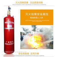 云南昭通柜式七氟丙烷气体灭火装置GQQ100/4.2生产厂家