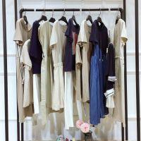 上海时尚品牌唯弋19夏装品牌女装折扣批发女装库存尾货走份欧美外套半身裙