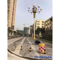 重庆九十五中中华灯,芙蓉花路灯厂家