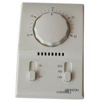 江森温控器T2000AAC-0C0两管制四管制机械式温控器风机盘管温控器
