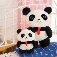 新品站版熊猫娃娃国宝毛绒玩具熊猫公仔抱抱熊女孩多种型号