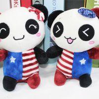 厂家直销国宝熊猫婚庆毛绒玩具小礼品 抓机娃娃 结婚奖品公仔娃娃