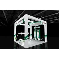 上海电子生产设备展展台搭建设计