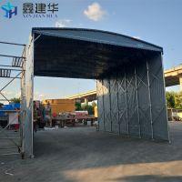 临泉县伸缩雨棚布配件 全封闭遮阳帐篷 固定雨蓬抗倾覆