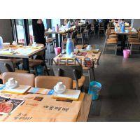 定制现代中式重庆老火锅桌椅子柜式火锅桌椅组合批发 美式乡村