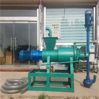 固料进出口固液分离机 粪便回收快脱水机 各种物料处理分离机