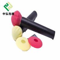 专业定制防风海绵套 O型话筒吸音海棉 通用耳机海绵 挖孔隔音耳机棉