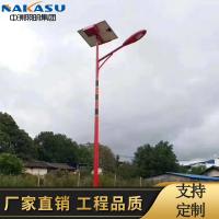 6米-7米-8米12V民族特色大功率LED太阳能路灯厂家直销来图定制
