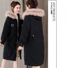 供应19冬季新款韩版东大门羽绒棉衣女装品牌折扣