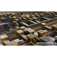 大型机架焊接加工_方通槽钢焊接件CNC龙门铣机械加工