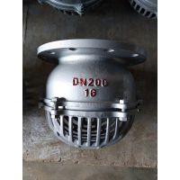 杭州钢制大口径底阀 不锈钢底阀H42W-25P DN40 规格WMY