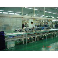 广州打印机上下层生产线,佛山复印机环形流水线,打印机装配老化生产线