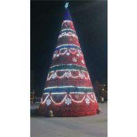 江苏大型圣诞树生产厂家圣诞节气氛布置