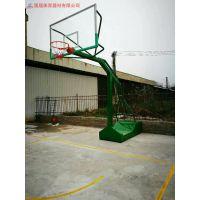 湖北学校篮球架规格定做-武汉小区公园标准篮球架的尺寸是多少