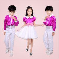 六一儿童合唱服 中小学生诗歌朗诵演出服 幼儿校服舞蹈表演服