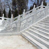 厂家直销青石栏杆雕刻 村庄道路花草护栏 广场公园雕花栏板