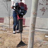 汽油冲击式断根挖树机 带土球起树机 省人工大马力铲根起移苗机