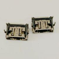 HDMI板上型母座/19P-A型/90度四脚插板DIP/单排贴片SMT/带防尘塞/HDMI高清接口