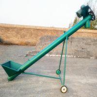 都用-水稻装车螺旋提升机 3米长绞龙式上料机 塑料颗粒螺旋提升机