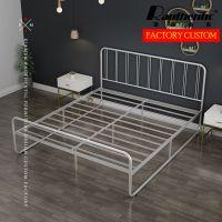 2019新款工厂批发现代设计卧室金属床
