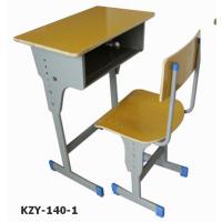 萍乡培训班课桌椅 中小学生可升降教室课桌椅 学校课桌椅厂家直销