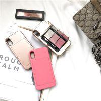新款彩妆粉底苹果x手机壳iPhone 7补妆神器个性潮女款创意保护套