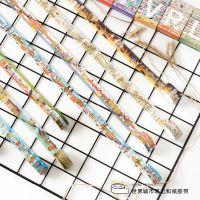.陌墨无痕和纸胶带 世界城市笔记 旅行插画建筑日式手帐纸画 2cm