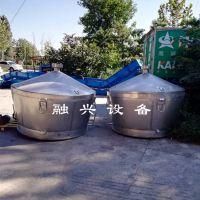 白酒蒸馏设备 烧煤烧柴多功能酿酒设备 立式储酒罐 白酒配套设备厂家供应
