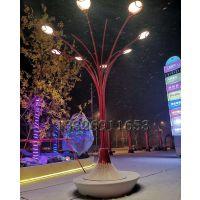 led景观灯售楼部门口灯森隆堡169特色艺术树灯造型座椅灯镀锌钢亚克力路灯图