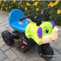 新款儿童电动车摩托车大象摩托车带音乐灯光电动三轮摩托车