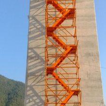 安全通道施工梯笼箱式网面梯笼河北通达生产厂家