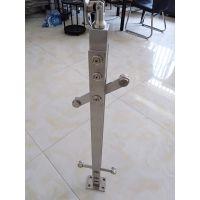 不锈钢立柱 不锈钢菱形立柱 家用 工程立柱 厂家直销