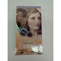 fascolor多色植物护发膏染发膏染发剂美发用品1件100盒。