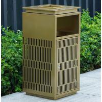 合肥户外铸铝垃圾桶小区铁艺垃圾箱创意果皮箱定制市政公园垃圾箱