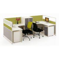 南昌办公家具简约时尚办公员工桌多人位组合屏风办公桌单人职位办公桌可定制