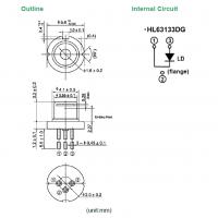 牛尾(原日立) 激光二极管 638波长/170mW