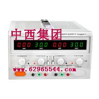 中西(LQS促销)直流稳压电源 型号:HH28-HY3005F-2库号:M301058