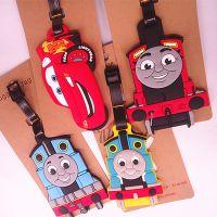 创意日本卡通行李牌汤姆斯 火车头赛车托运牌/识别牌行李牌