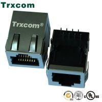 泰瑞康/Trxcom/21.3mm千兆RJ45网络接口带灯RJ45厂家
