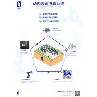 智能工厂动态沙盘模型 机器人 定制 订制