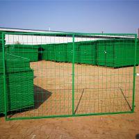 浸塑铁丝网现货 围墙护栏网 车间隔离网