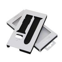 电子手表带彩盒包装,翻盖EVA挂钩折盒,定制logo东莞专业厂家