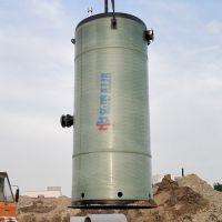 贵阳智能一体化预制泵站生产厂家玻璃钢材质