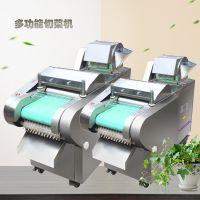 东海县餐厅用多功能切菜机 电动耐用萝卜切片 豆腐切块机厂家